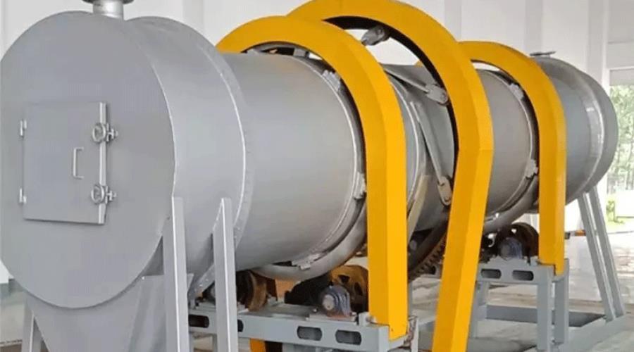 污泥碳化-生物改性泥质炭基肥污泥处理技术